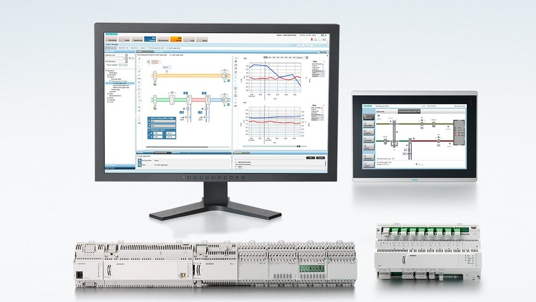 Gebouwautomatisering- en besturingssystemen van Siemens