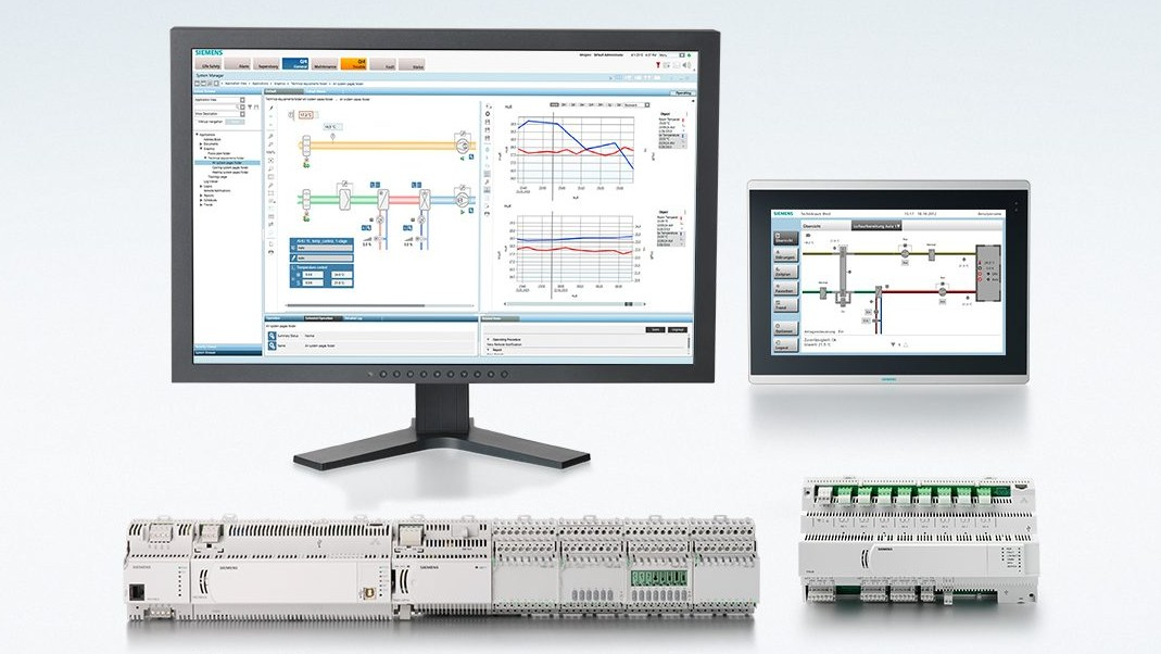 Building automation and control systems from Siemens