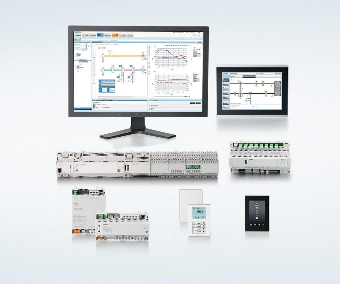 Gebäudeautomation-Systeme von Siemens