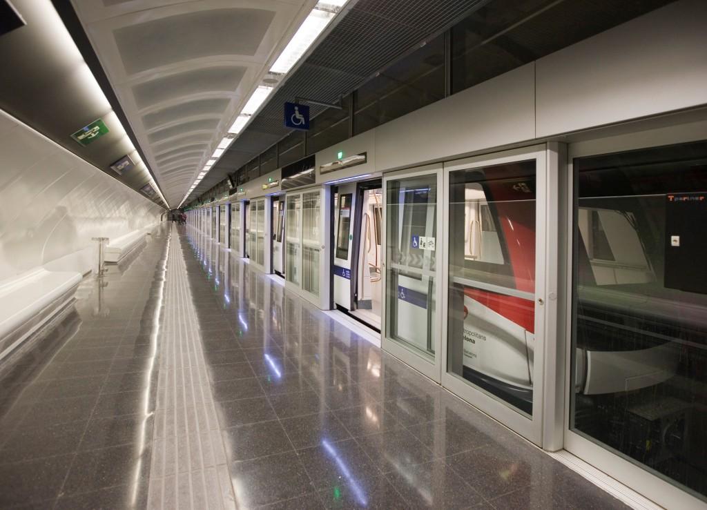 Fahrerlose U-Bahn Linie 9, Barcelona, Spanien