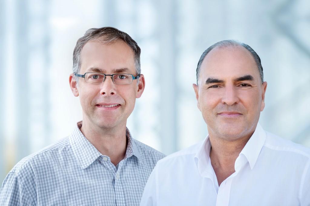 Mark Griswold and Peter Jakob - Erfinder des Jahres 2018