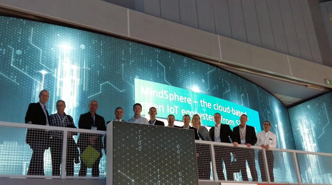 Tetra Pak spanade in MindSphere, Siemens öppna operativsystem för IoT, och möjligheterna med molnbaserade analystjänster på SPS IPC Drives 2016.