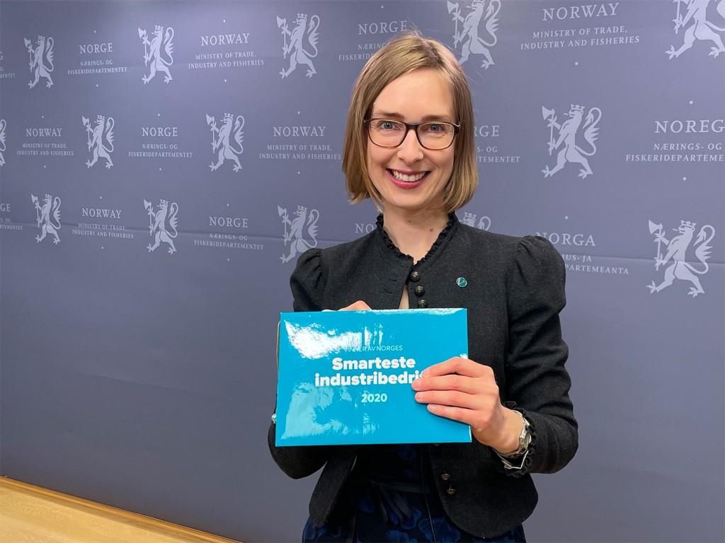 Iselin Nybø, næringsminister