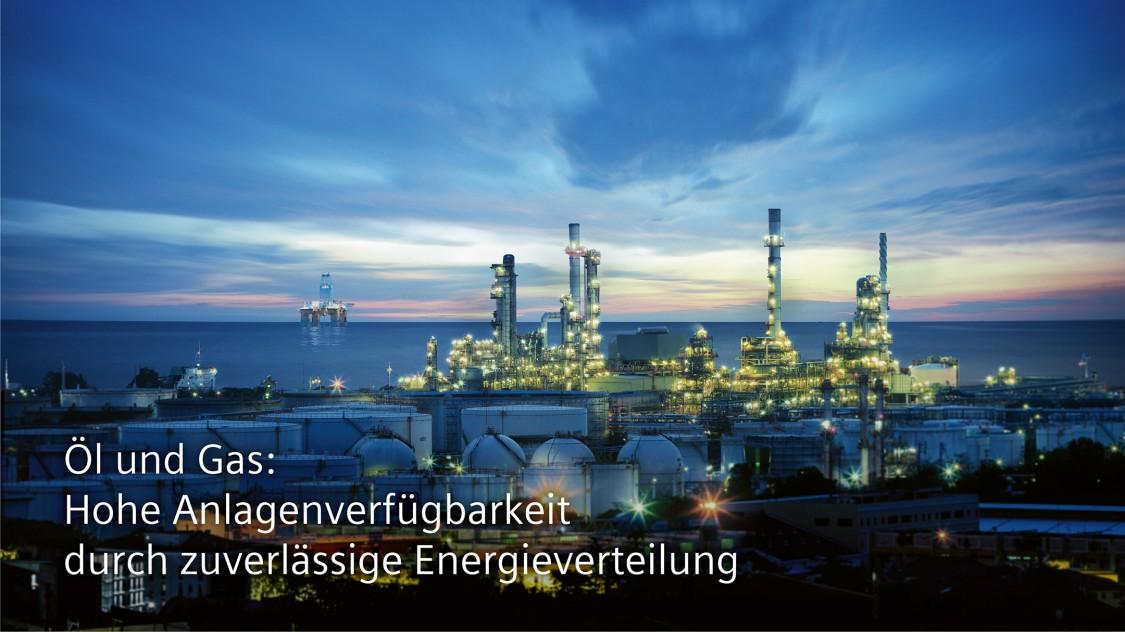Öl und Gas: Hohe Anlagenverfügbarkeit durch zuverlässige Energieverteilung