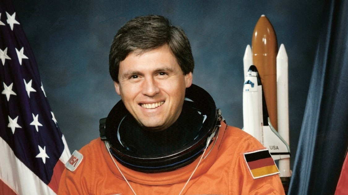 Astronau Ulrich Walter