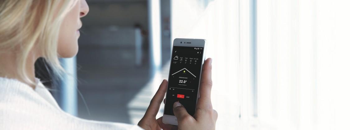 Heat pump remote control application