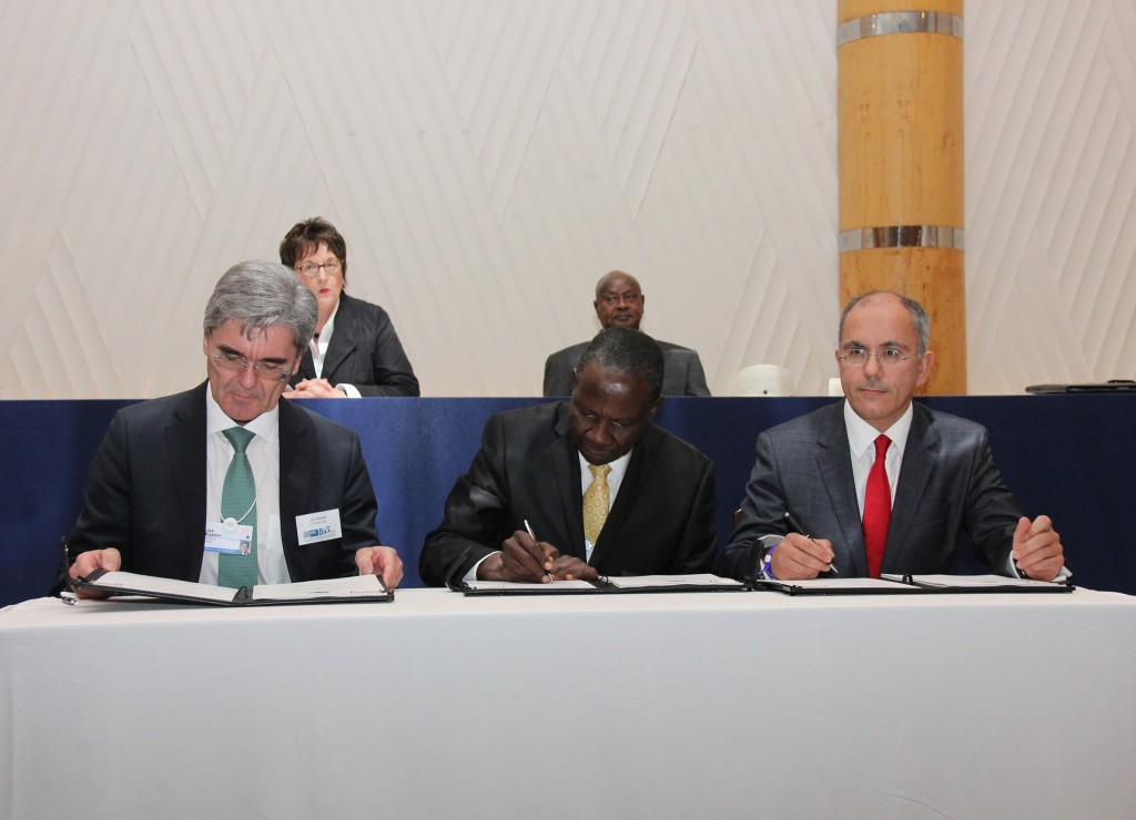 Siemens signs agreement with Uganda