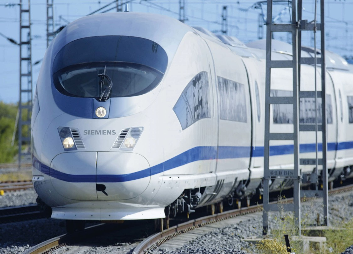 A perfected design – The Velaro E high-speed train