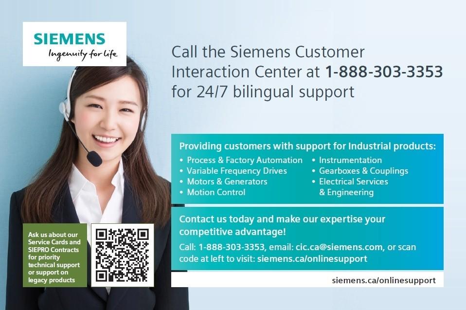 Customer Interaction Centre Siemens Canada