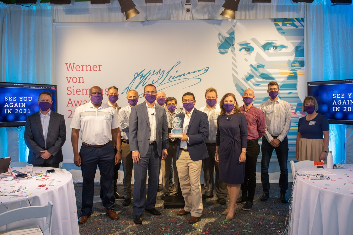 Image of 2020 Werner Von Siemens Award winning USA team