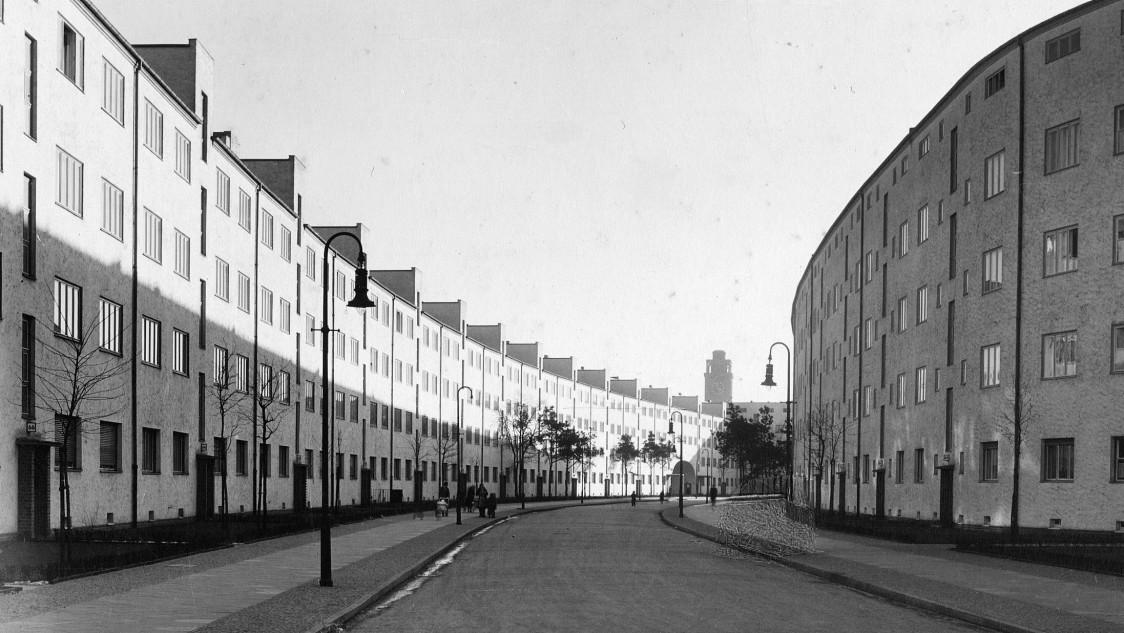 """Settlement """"Heimat"""", 1931"""