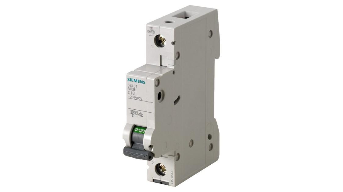Модульные автоматические выключатели для зданий и коммуникаций