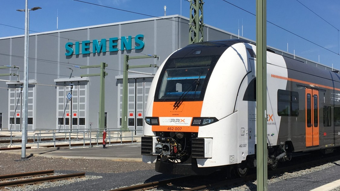 Rhein-Ruhr-Express (RRX) – full service of Desiro HC vehicles and depot operation
