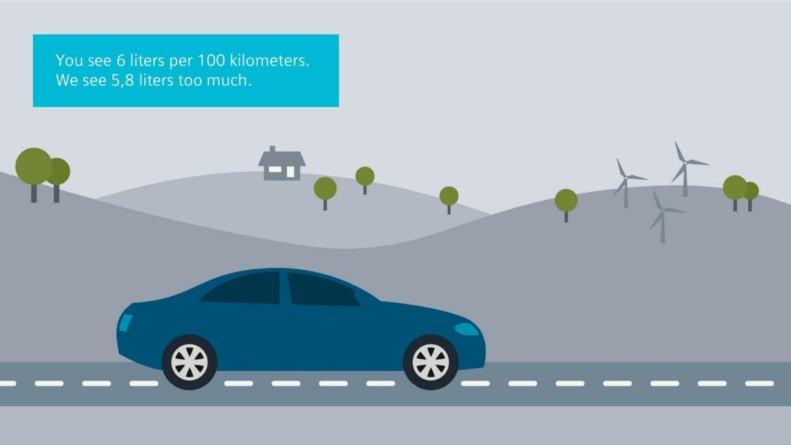 Velaro Novo jest już dziś najbardziej ekonomicznym pojazdem szynowym z napędem silnikowym: Może on pochwalić się równoważnym zużyciem paliwa wynoszącym zaledwie 0,2 l na pasażera na 100 km.
