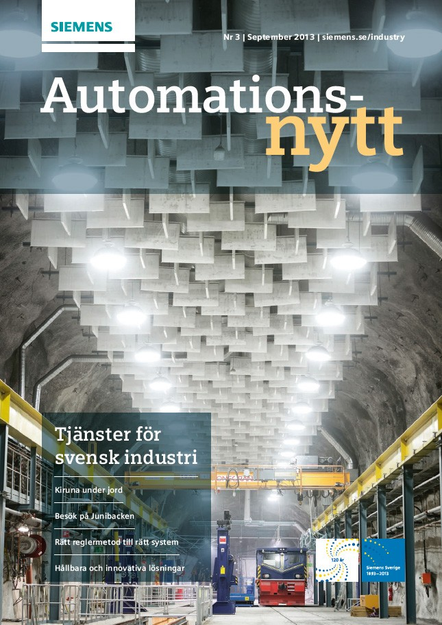 Automationsnytt Nr 3 | September 2013
