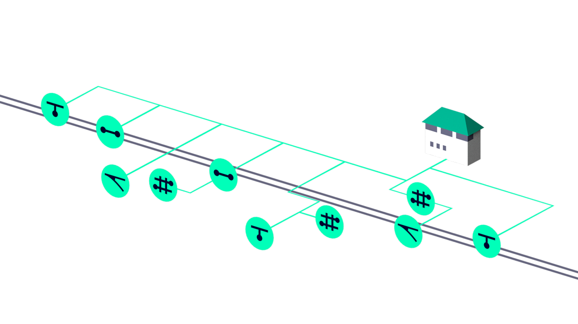 The architecture of a digitalized signaling infrastructure