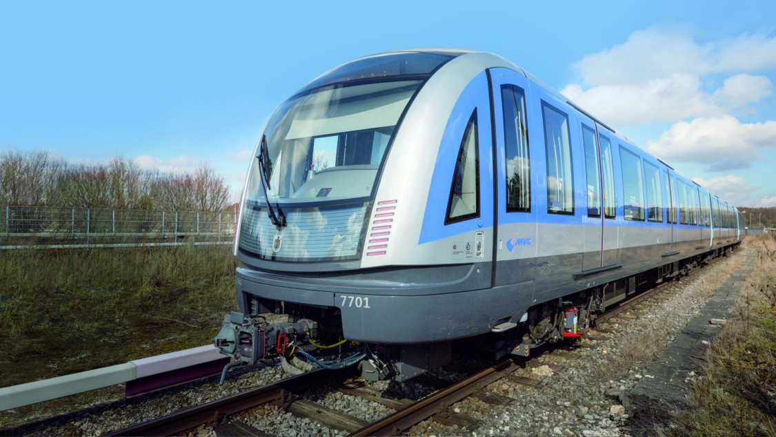 Siemens metros for Munich