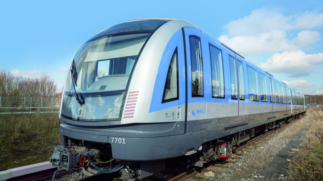 Siemens Mobility: 45 metro trains for Munich