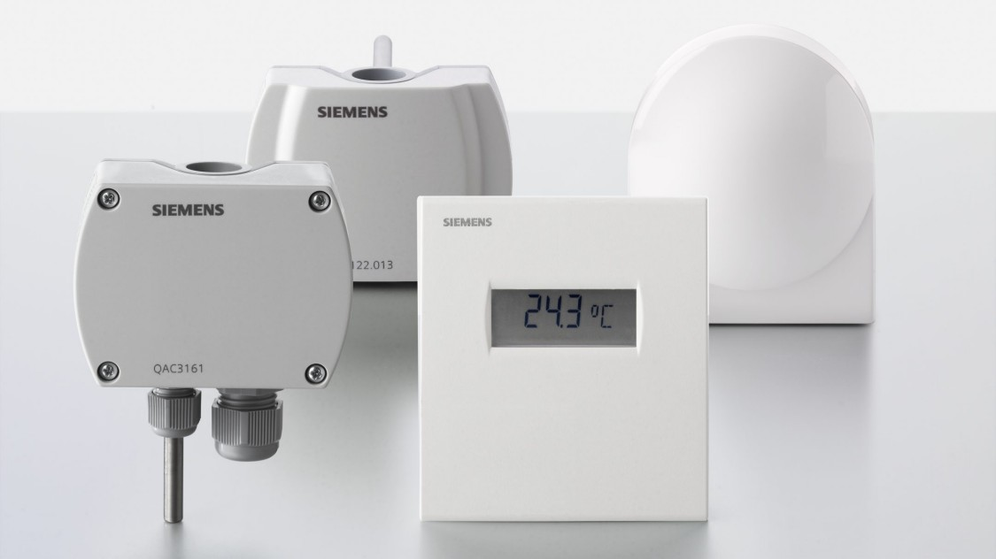 Siemens temperature sensors