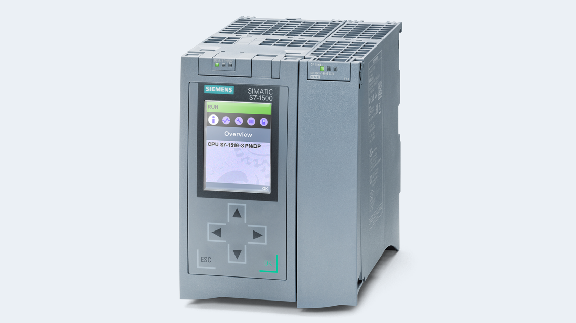 Product image of a SIMATIC S7-1500 with CP 1545-1 communications processor with CloudConnect functionality