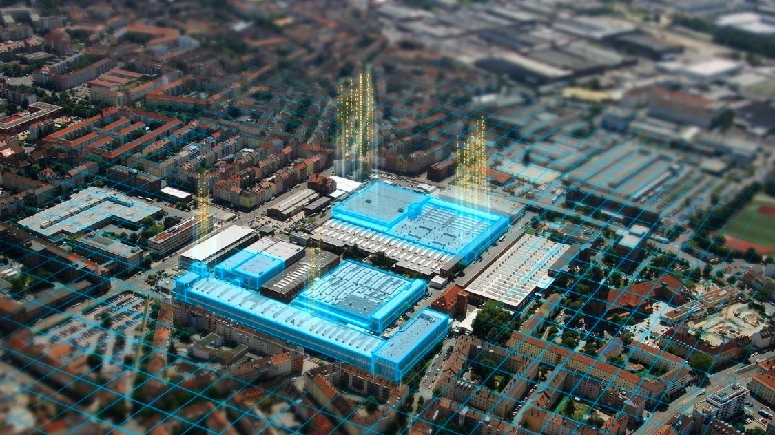 The motor factory in Nuremberg