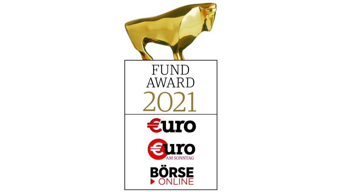 €uro-FundAwards 2021 für den Siemens Global Growth