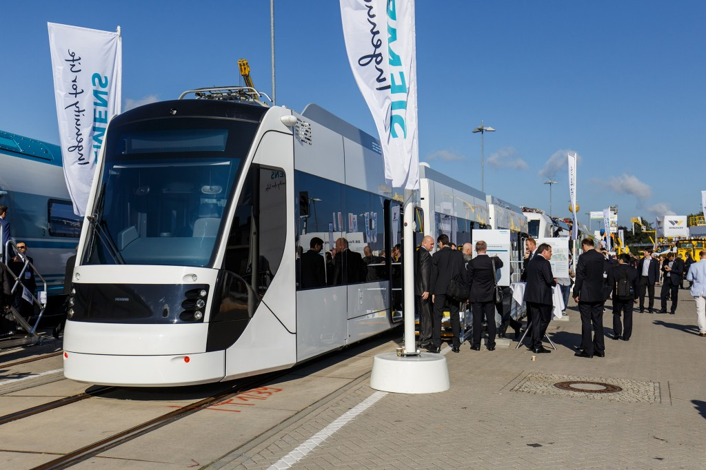 Siemens at Innotrans 2016: Avenio QEC