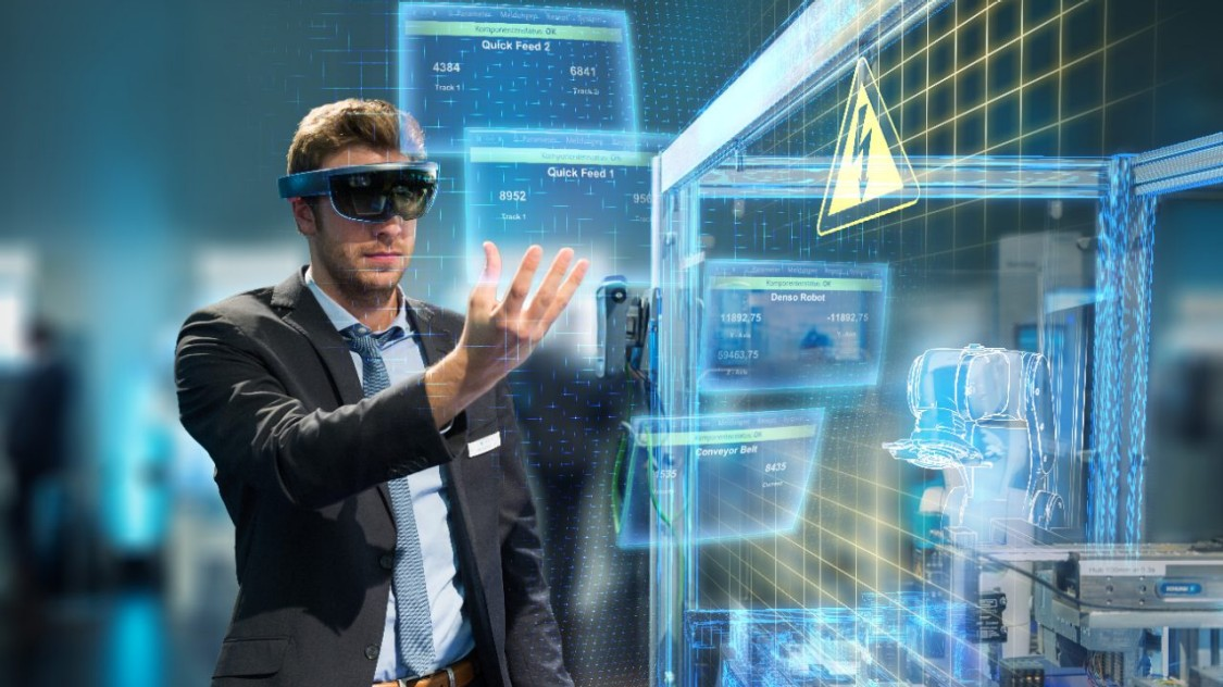 Digitaler Zwilling von Siemens im Maschinenbau