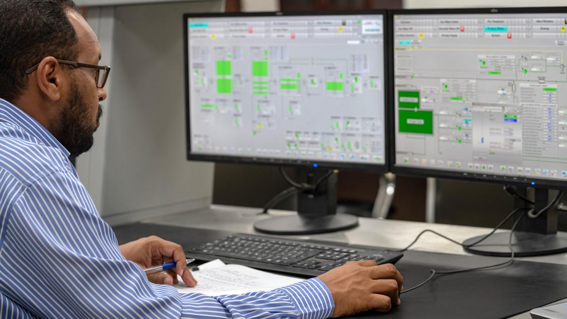 Das Prozessleitsystem Simatic PCS 7 trägt zu hoher Anlagenverfügbarkeit und -effizienz bei und unterstützt die Bediener bei ihrer täglichen Arbeit