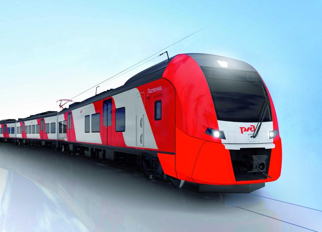 Pociąg Desiro w Rosji