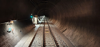 Streckenausrüstung im Vereina-Tunnel