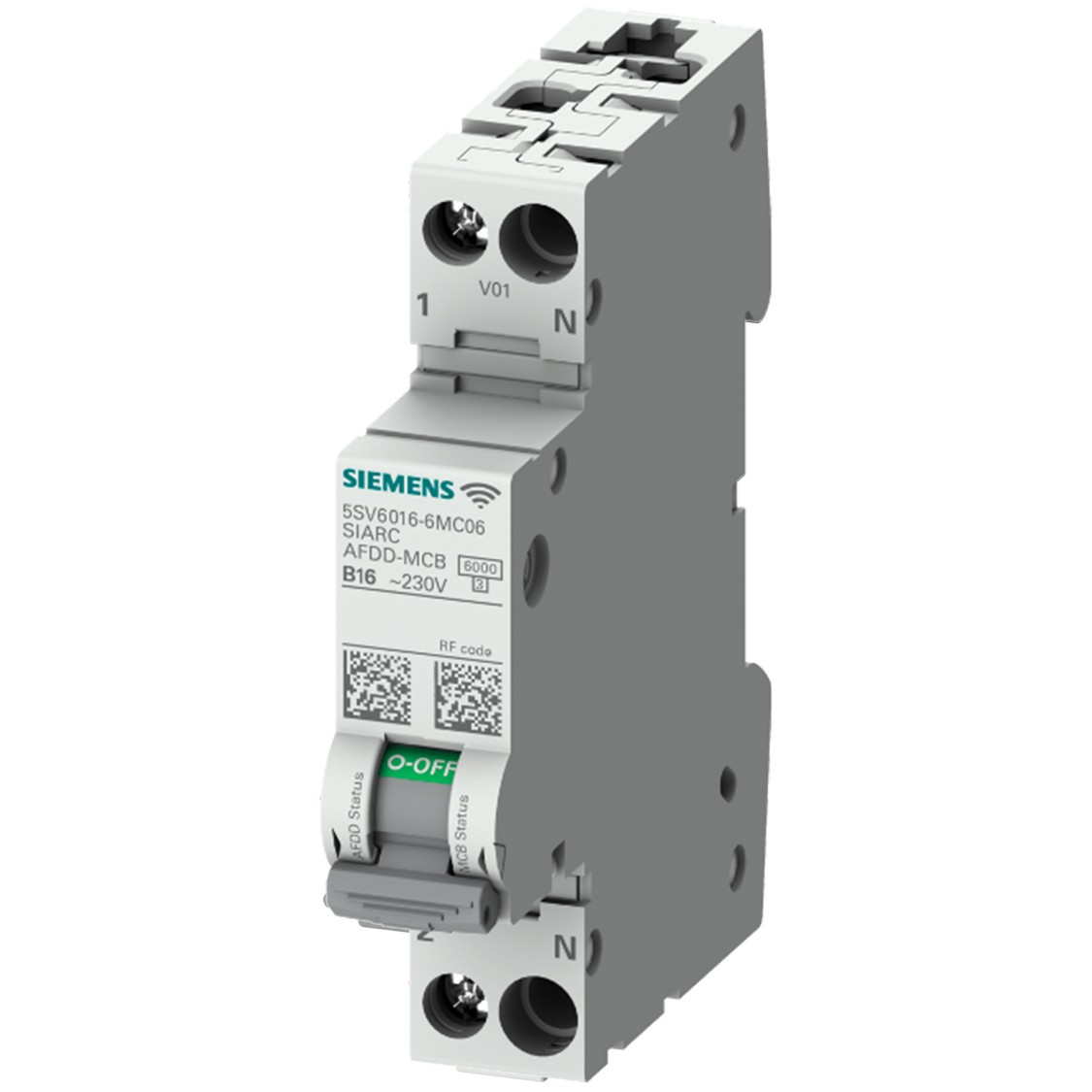Fire protection with the 5SV6 COM AFDD/miniature circuit breaker