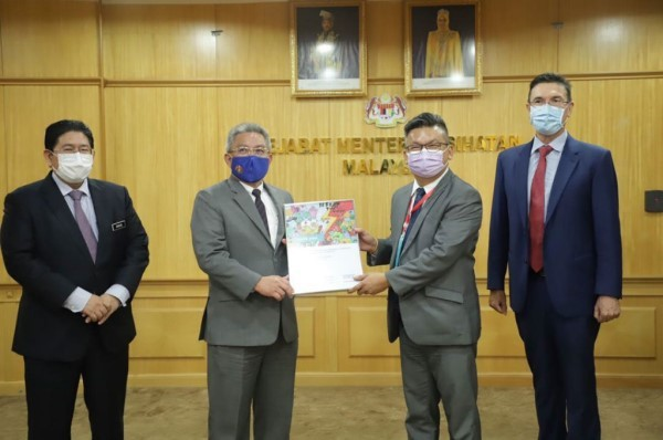 Siemens Malaysia Donation to MOH