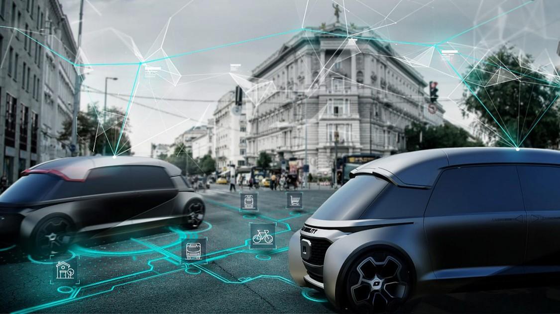 Pakiet Self-Driving Vehicle (SDV) firmy Siemens: systemowe podejście, obejmujące inteligentną infrastrukturę w terenie, wsparcie oprogramowania i integrację pojazdów autonomicznych wszelkiego typu.