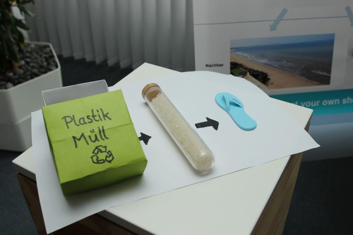 Einfaches Konzept, gelungene Vorstellung: Die FLIPBOX macht aus Meeresmüll neue Schuhe – und überzeugte die Jury