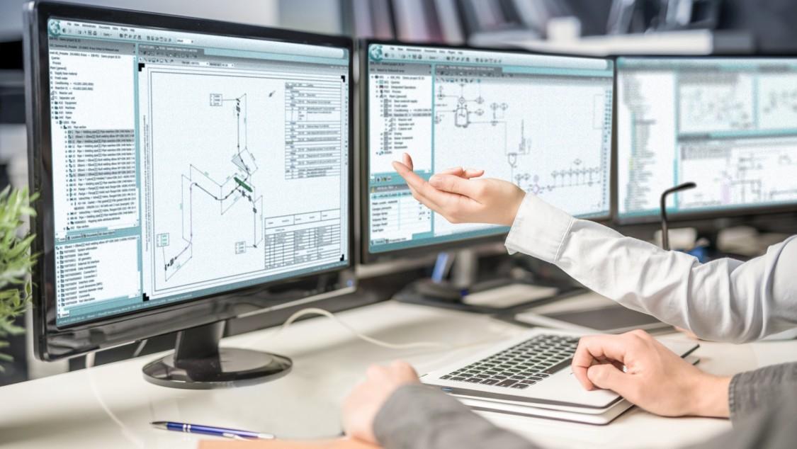 COMOS Isometrics 是一种高效且完善的解决方案,用来生成交互式轴测图