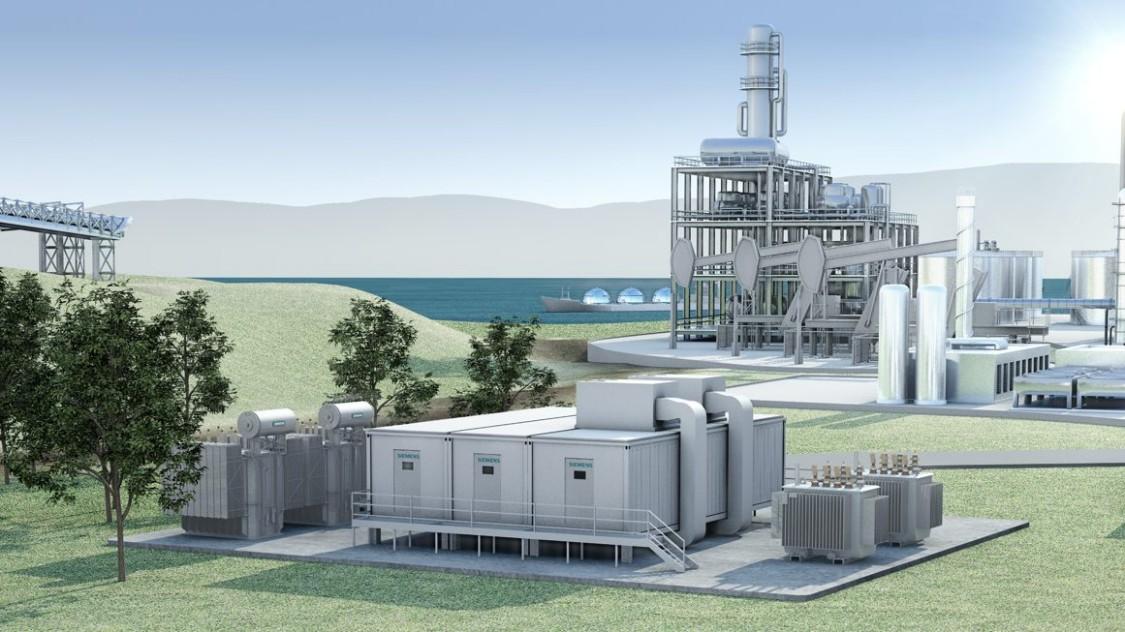 Siemens E-House: Pre-assembled modular power substation