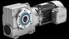 simogear helical worm gear motor