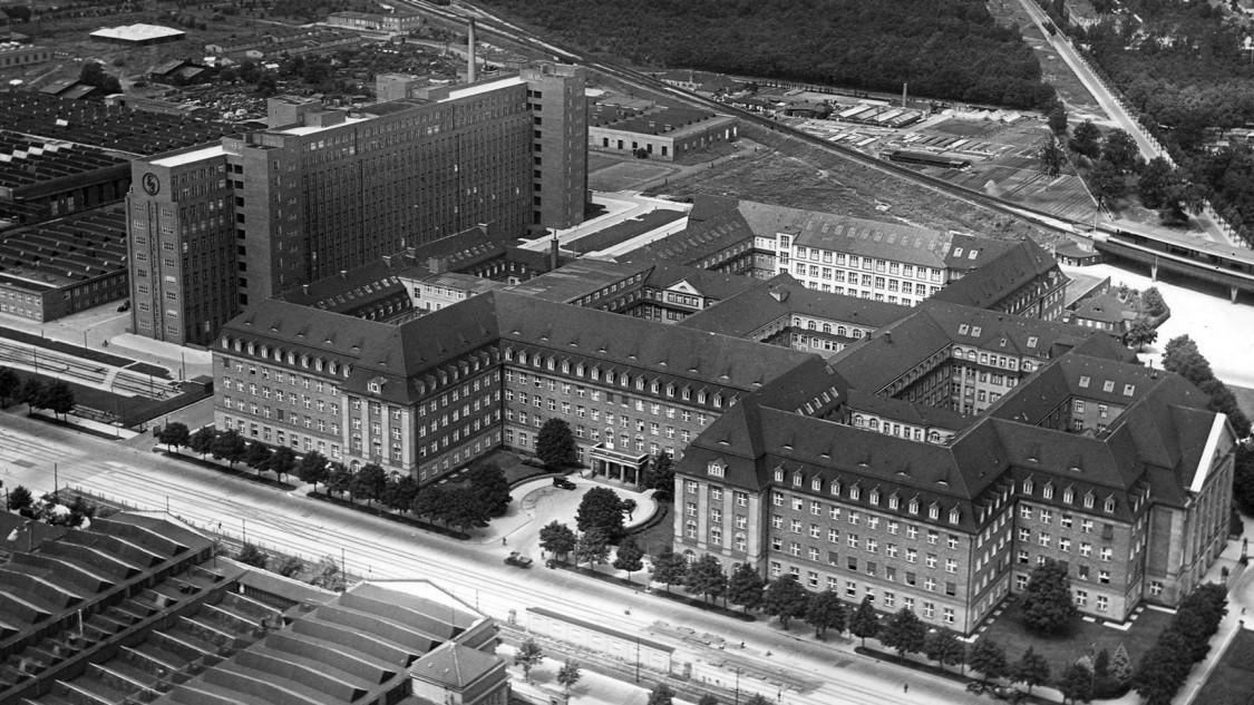 Ein historischer Blick auf das Verwaltungsgebäude