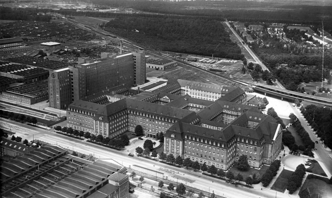 Verwaltungsgebäude, 1931