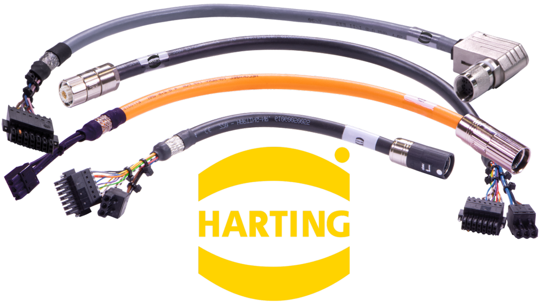 micro-drive harting cables