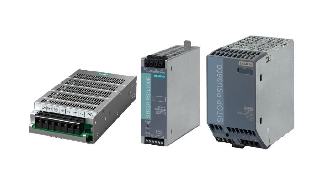 特殊な用途向けに特別に設計されたSITOP電源の製品群の画像