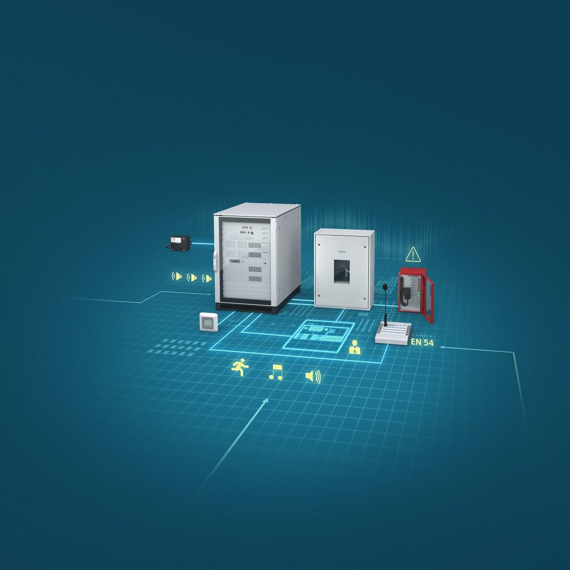 Siemens Gebäudetechnik | Novigo – Sprachalarm- und Beschallungssystem
