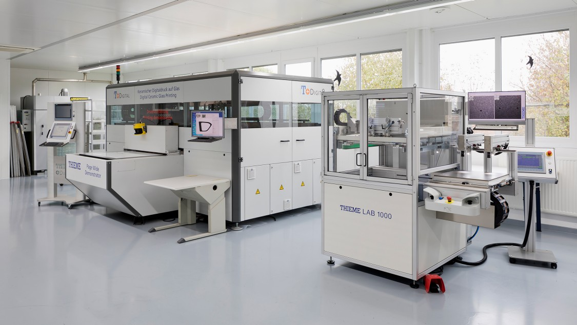 Digitaldruckanlage Digital Technikum