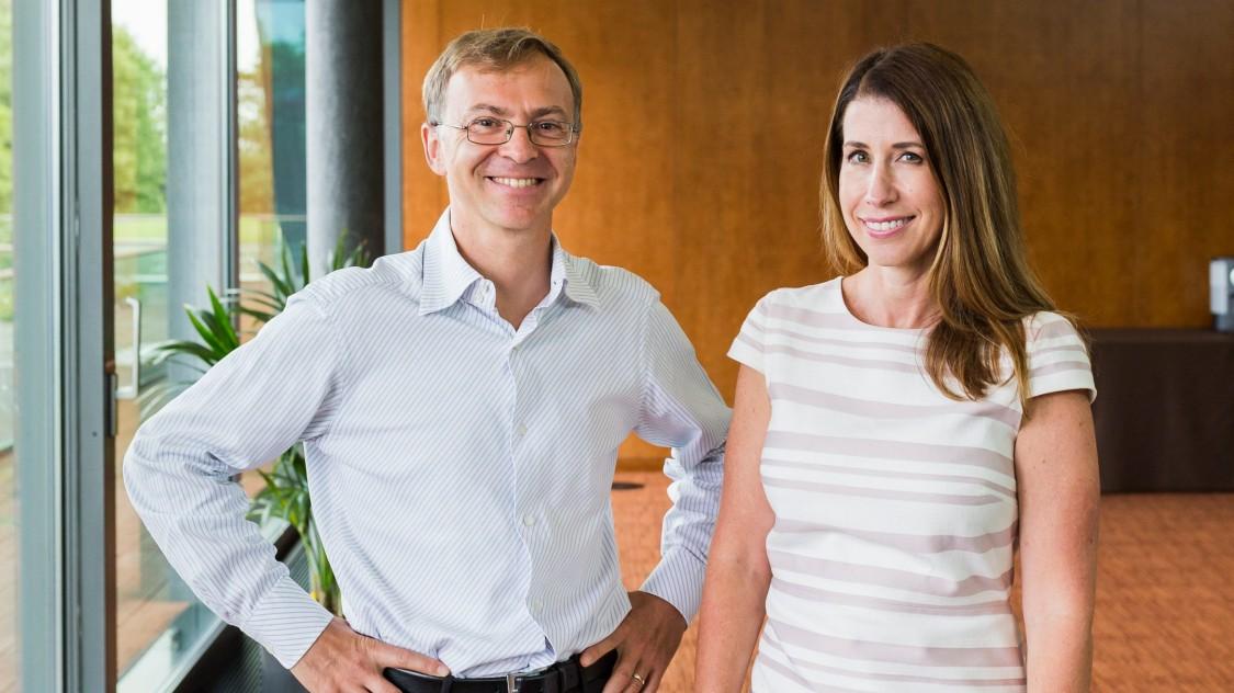Roberto Bocca and Kristen Panerali, WEF