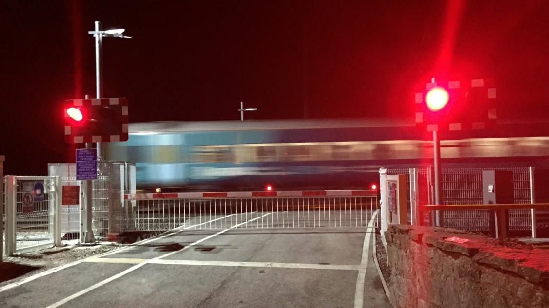 Zugerkennung an Bahnübergängen