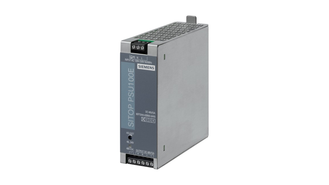 Product image SITOP PSU100E, 1-phase, DC 48 V/5 A