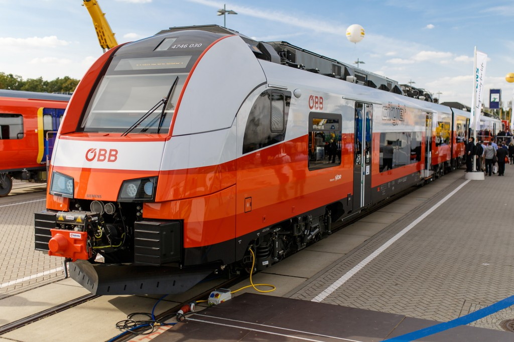 Siemens at Innotrans 2016: Desiro ML OeBB cityjet