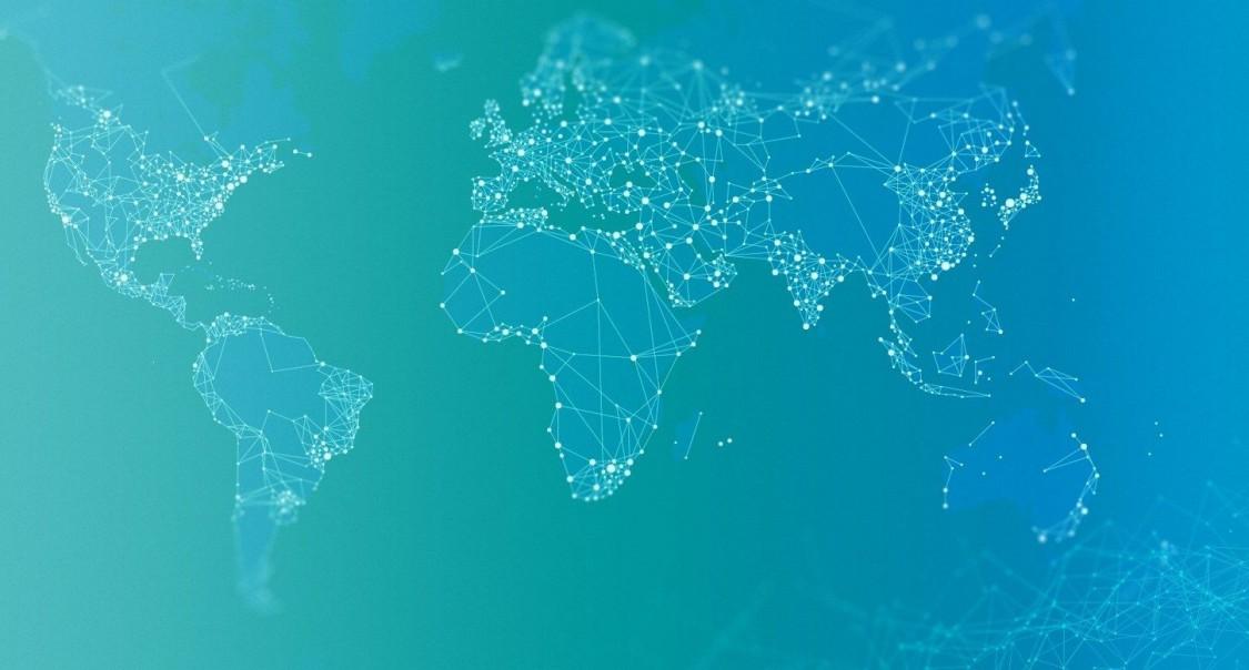 Landkarte Sitrain weltweit