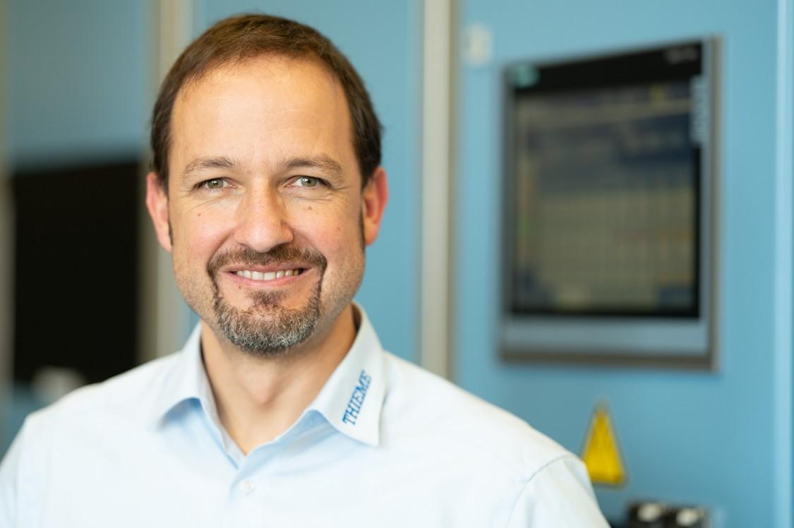 Stefan Holzer, Gesamtbereichsleiter Technik Drucksysteme, Thieme GmbH & Co. KG